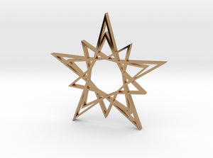 Arabesque: Solar Star 3d printed