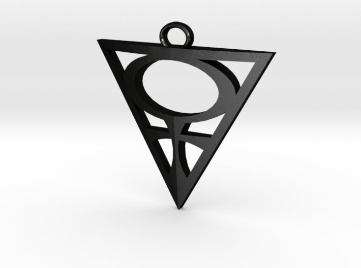 Goddesses: Venus Centered large pendant 3d printed