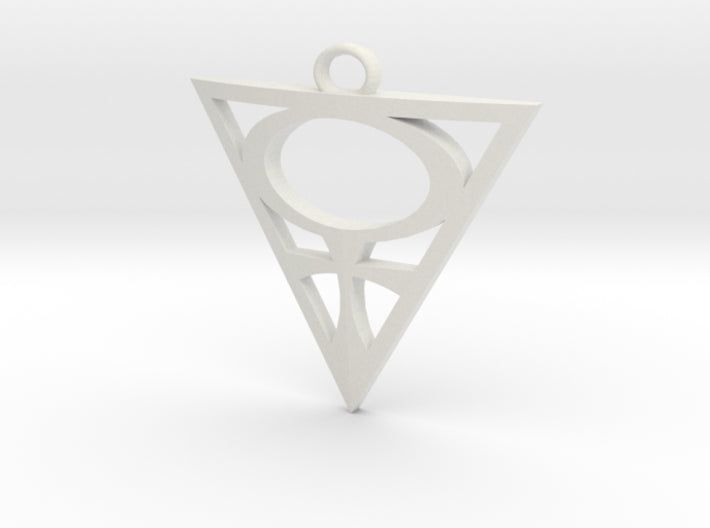 Goddesses: Venus Centered small pendant 3d printed
