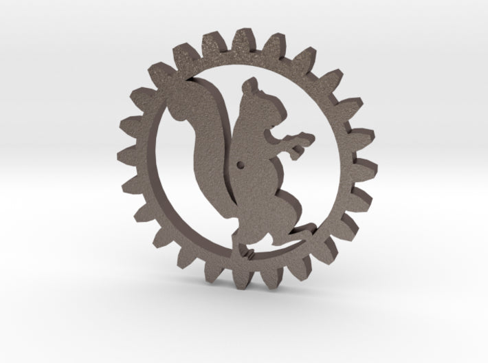SquirrelWorks 3d printed