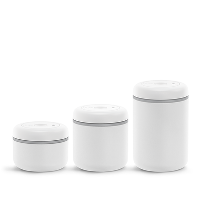 ATMOS VACUUM CANISTER MATTE WHITE