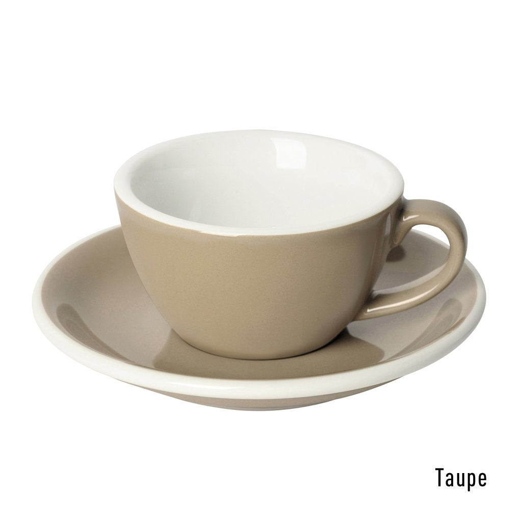 EGG 150ml Flat White - Taza y Platillo