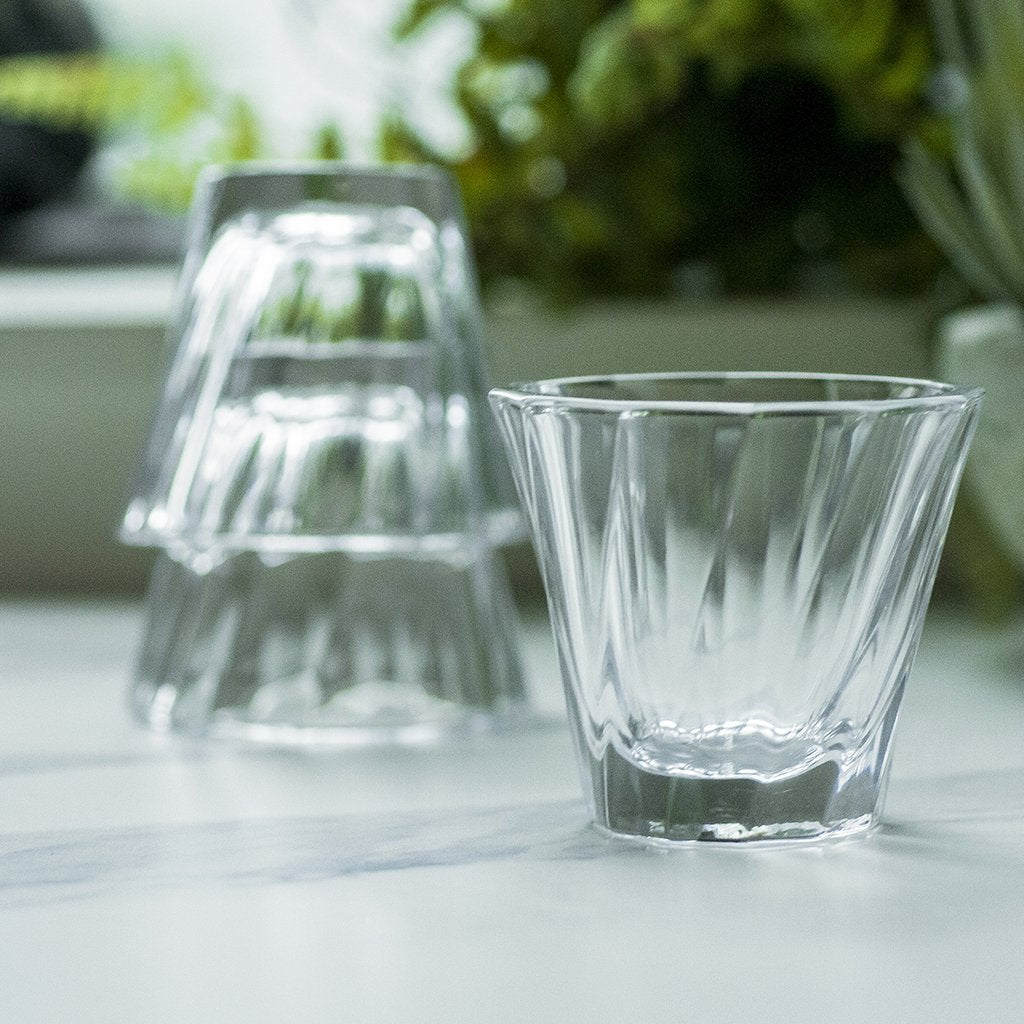 URBAN GLASS - 120ml Twisted Cortado Glass