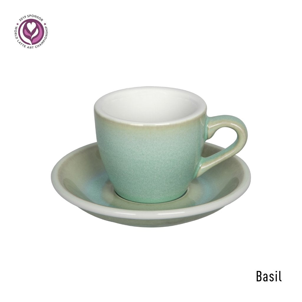 EGG 80ml Espresso - Taza y Platillo (Potter Colours)