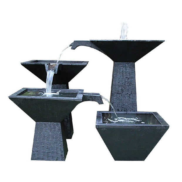 GI CASCADE SQ BOWL 3 TIER