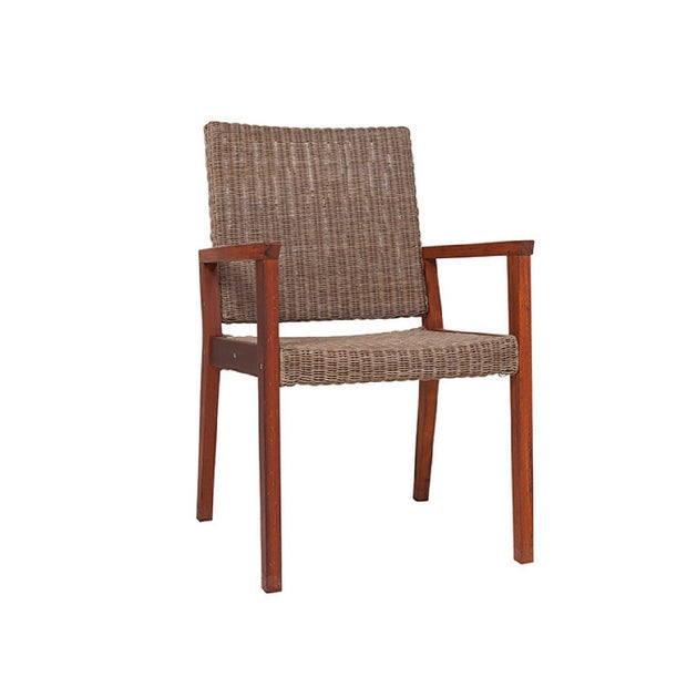 CHAIRS BRONX WICKER IRISH COFFEE