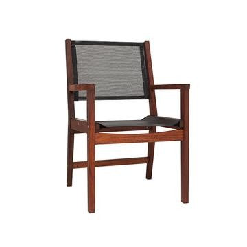 CHAIRS BRONX SLING BLK