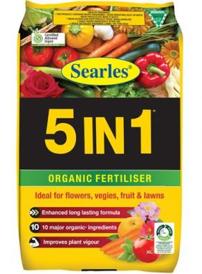 5 IN 1 ORGANIC MIX 30LT