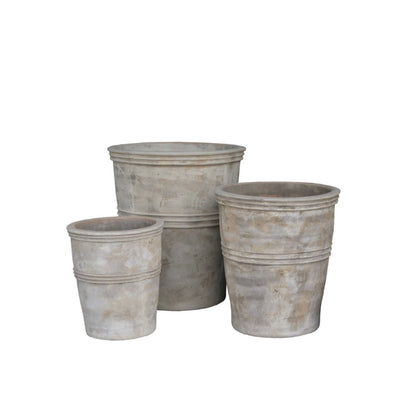 Antique Terracotta outdoor pots Large durable at The Springs Garden World