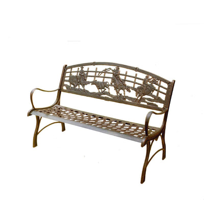 Campdraft Cast Iron Bench Seat