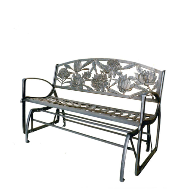 Waratah Rocker Cast Iron Bench Seat
