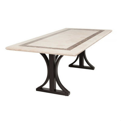 Cairo Travertine Stone Table