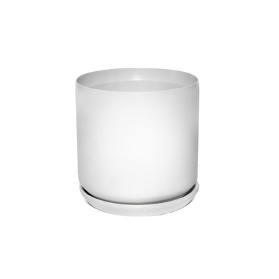 Cylinder Pots White