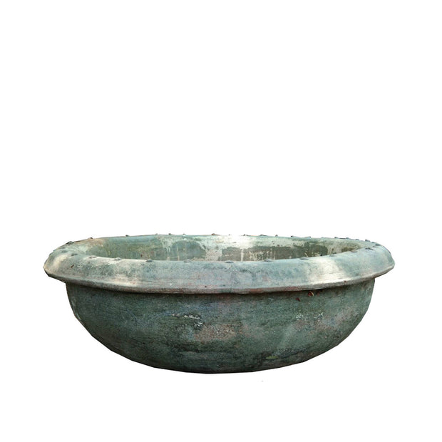 Limestone Lotus Bowl with Stand