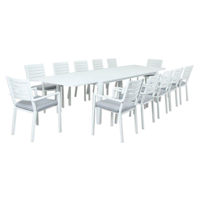 12 seater outdoor extension table , available at the springs garden world toowoomba