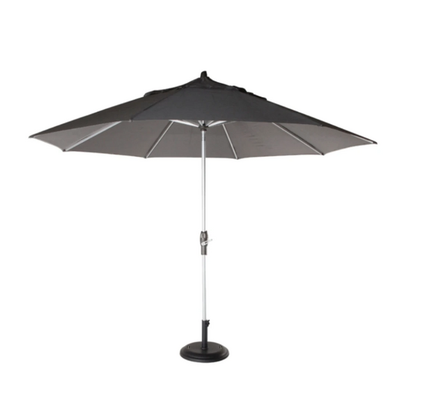 Hazel Umbrella 2.7m Octagonal Solid Black