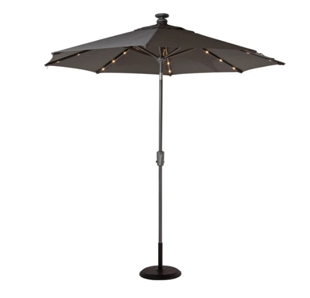 Aura 3.2mx2.1m Umbrella with Lights