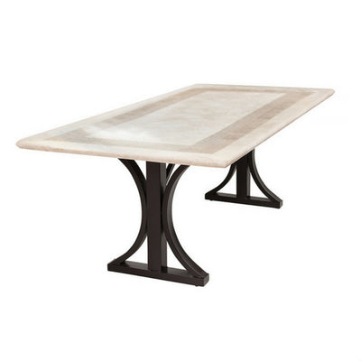Seville Travertine Stone Table
