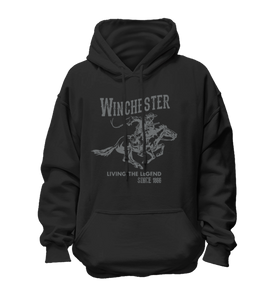 Vintage Rider Classic Fleece Pullover Hoodie