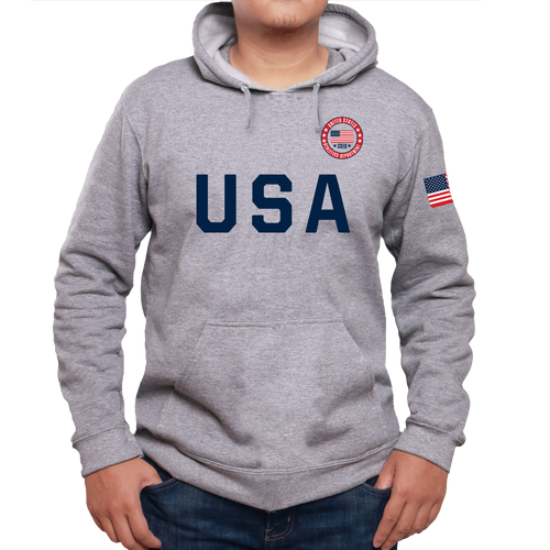 USA Sporty Athletics Department Hoodies For Men