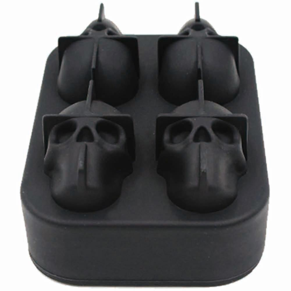 Bayshop Store Other Ice Cream Tools 3D Skull Ice Mold 14:193