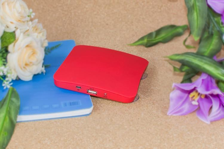Sparkle Red China / Red / Universal High quality  Solar Power Bank