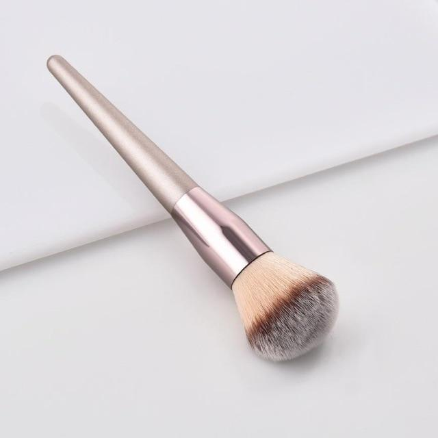 Sparkle Red Eye Shadow Applicator 1 Luxury Champagne Makeup Brushes