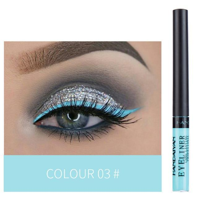 Sparkle Red Eyeliner 03 Waterproof Colorful Liquid Eye Liner 200001176:200005536