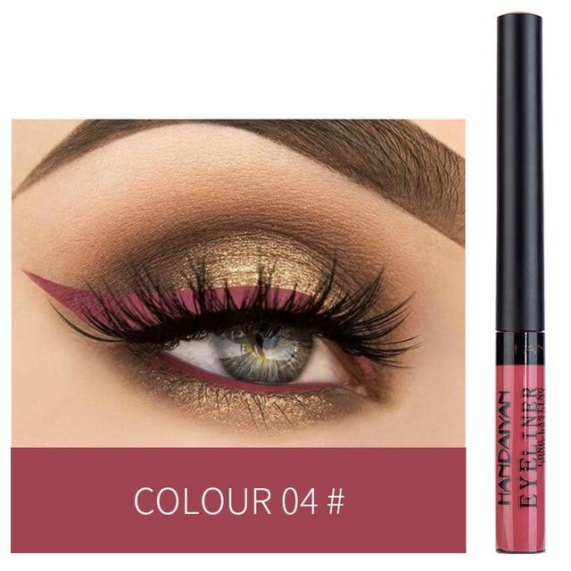 Sparkle Red Eyeliner 04 Waterproof Colorful Liquid Eye Liner 200001176:200006151