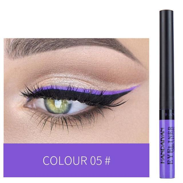 Sparkle Red Eyeliner 05 Waterproof Colorful Liquid Eye Liner 200001176:200006152