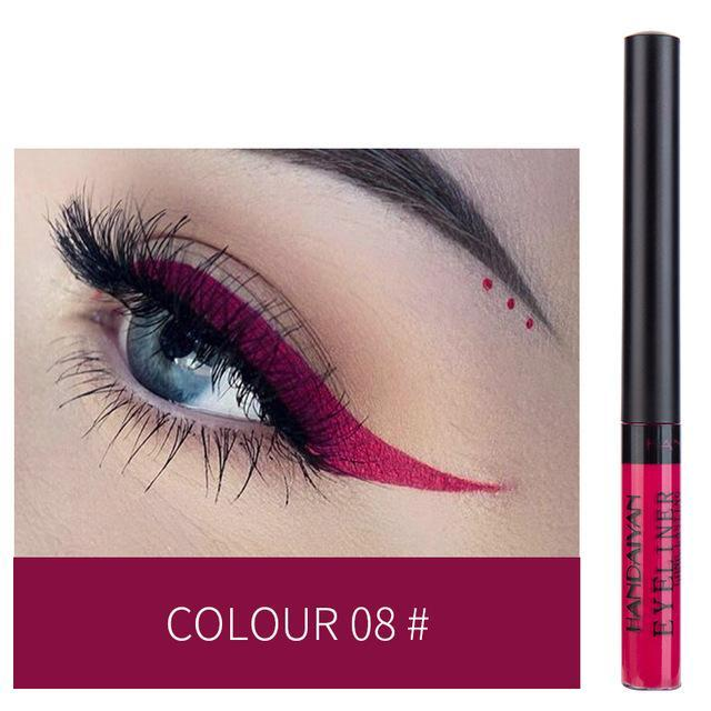Sparkle Red Eyeliner 08 Waterproof Colorful Liquid Eye Liner 200001176:200006155
