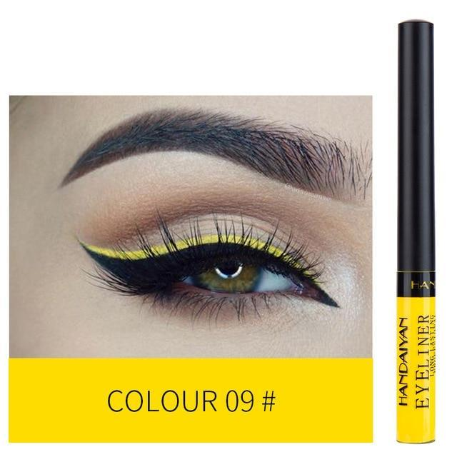 Sparkle Red Eyeliner 09 Waterproof Colorful Liquid Eye Liner 200001176:200006156