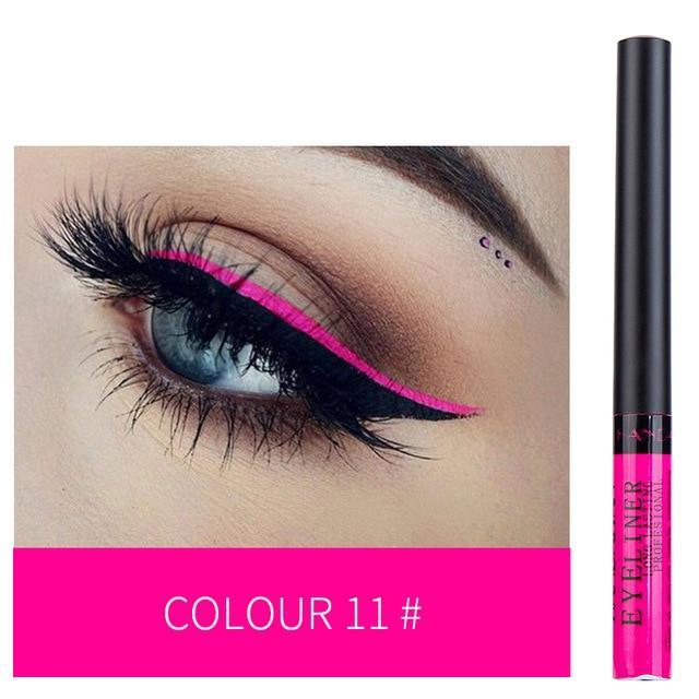 Sparkle Red Eyeliner 11 Waterproof Colorful Liquid Eye Liner 200001176:29