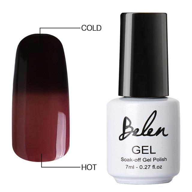 Sparkle Red Fashion 5006 Color Changing Gel Polish