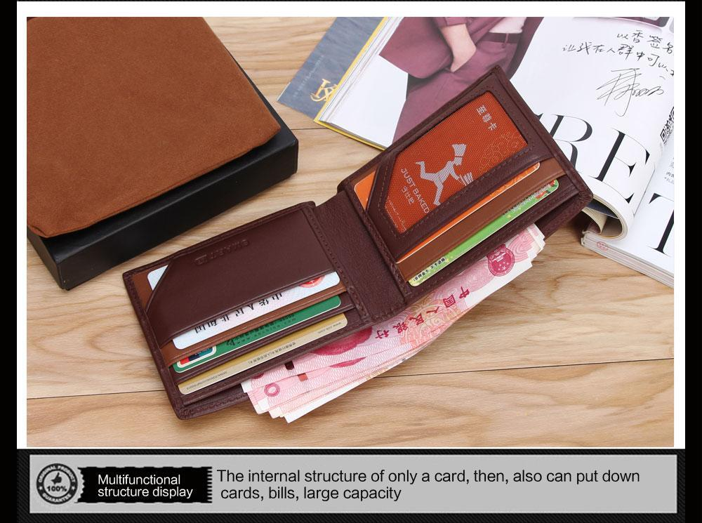 Sparkle Red Litchi Black Smart Wallet with GPS