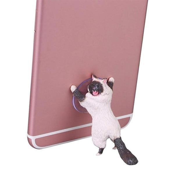 Sparkle Red Mobile Phone Holders & Stands Sky Blue Charming Cat Mobile Phone Holder 14:201441570