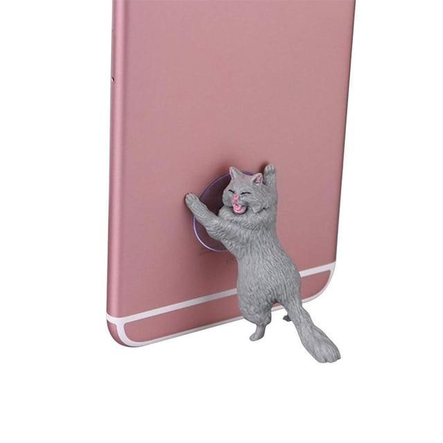 Sparkle Red Mobile Phone Holders & Stands YELLOW Charming Cat Mobile Phone Holder 14:366