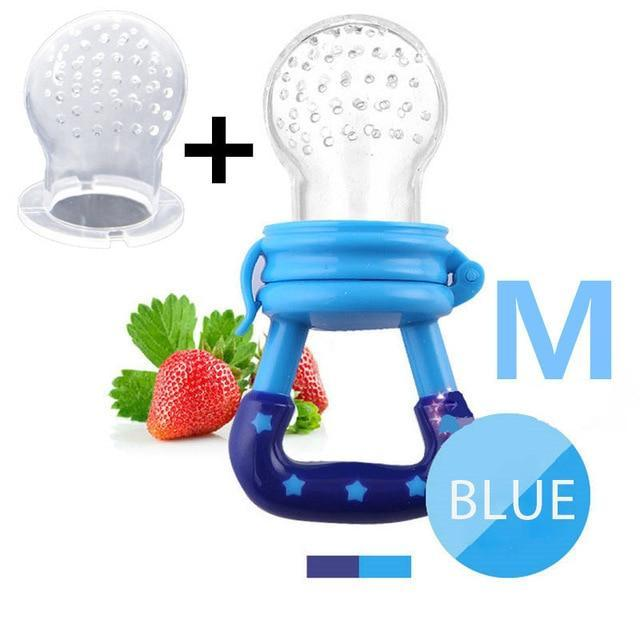 Sparkle Red Pacifier blue M Baby Fresh Fruit Feeder Pacifier 14:193