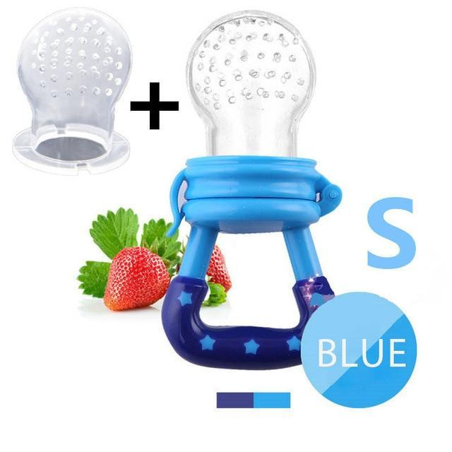 Sparkle Red Pacifier blue S Baby Fresh Fruit Feeder Pacifier 14:29