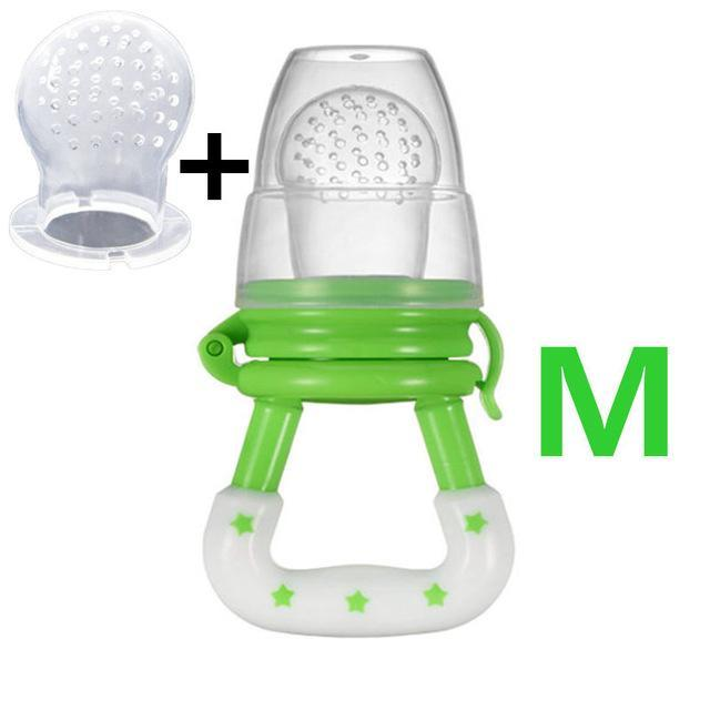 Sparkle Red Pacifier green M Baby Fresh Fruit Feeder Pacifier 14:691