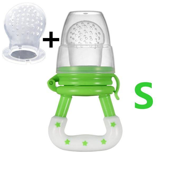 Sparkle Red Pacifier green S Baby Fresh Fruit Feeder Pacifier 14:10