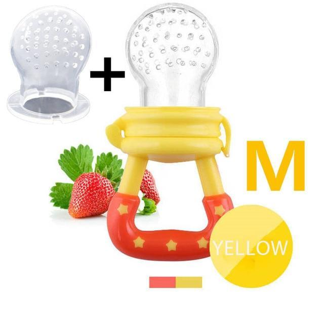 Sparkle Red Pacifier yellow M Baby Fresh Fruit Feeder Pacifier 14:1052