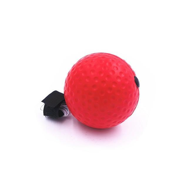 Sparkle Red Punching Balls & Speed Balls only 1 PU ball Hand Eye Training Speed Punch Ball