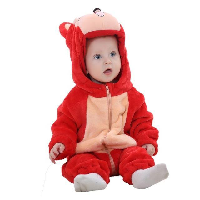 Sparkle Red red fox / 3M / China Animal Jumpsuit for Kids