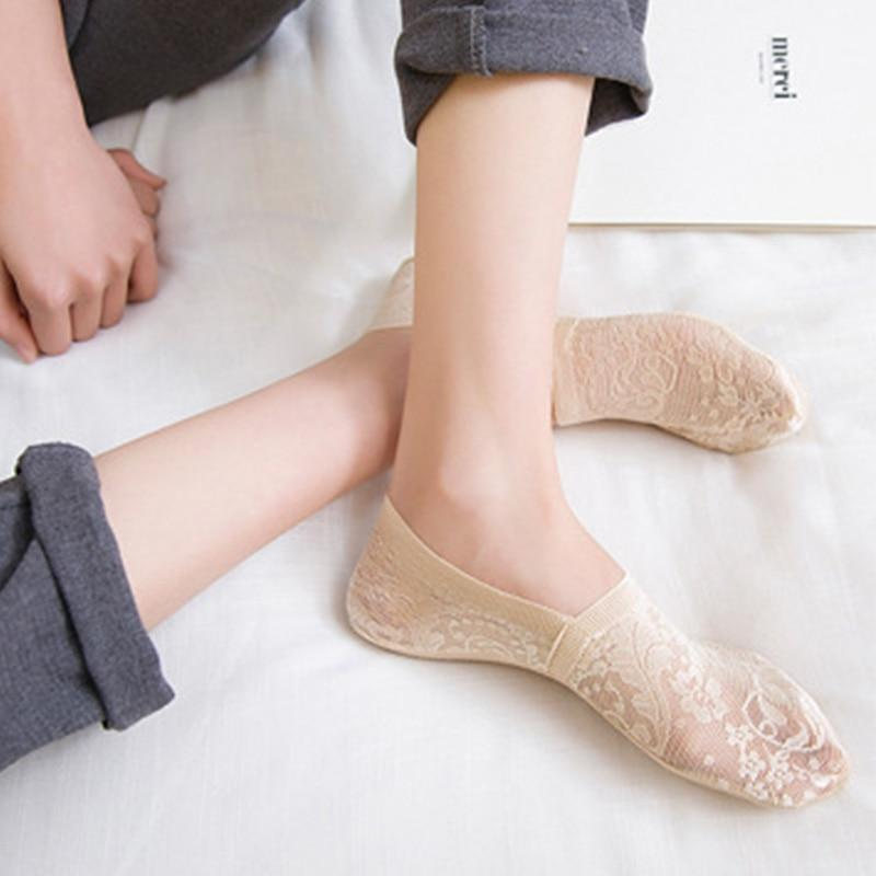Sparkle Red Socks Beige Summer Fashion Socks 14:771