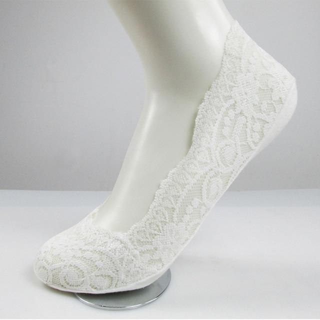 Sparkle Red Socks type 2 white Summer Fashion Socks 14:203008817
