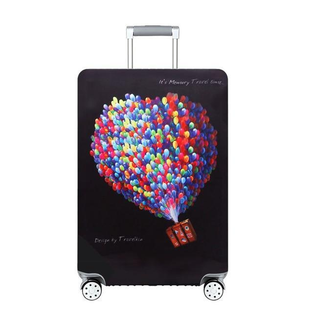 Sparkle Red Travel Accessories A2 / S Elegant Suitcase Protective Cover 14:200002984;5:100014064