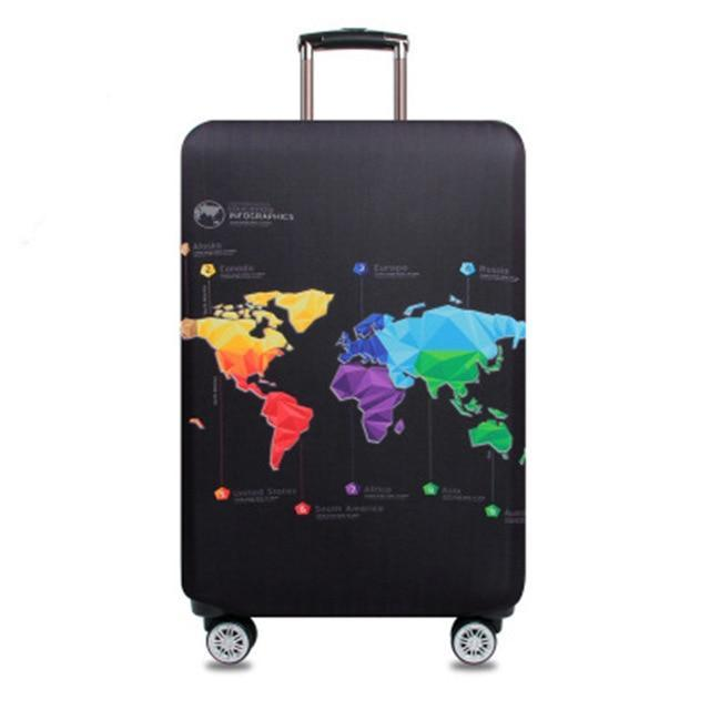 Sparkle Red Travel Accessories D / S Elegant Suitcase Protective Cover 14:100018786;5:100014064