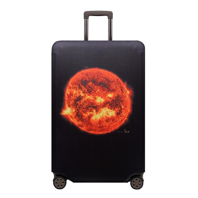 Sparkle Red Travel Accessories G / S Elegant Suitcase Protective Cover 14:691;5:100014064