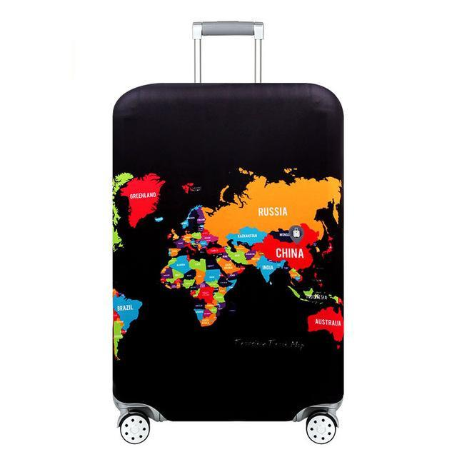 Sparkle Red Travel Accessories H / S Elegant Suitcase Protective Cover 14:350850;5:100014064